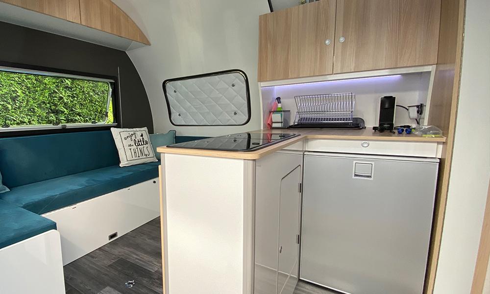 Beauer caravane 3X - Cuisine