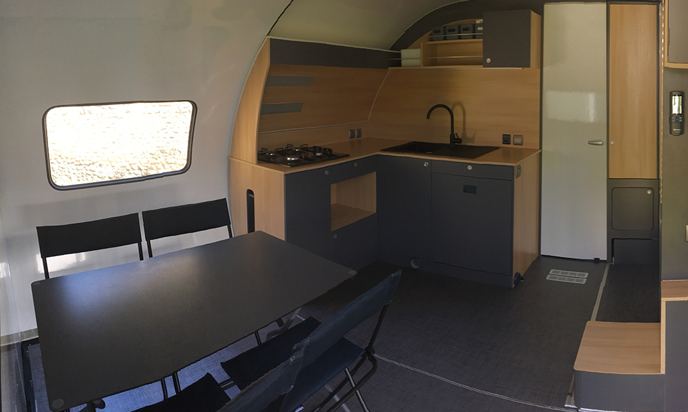 Beauer caravane 3XPlus - Cuisine