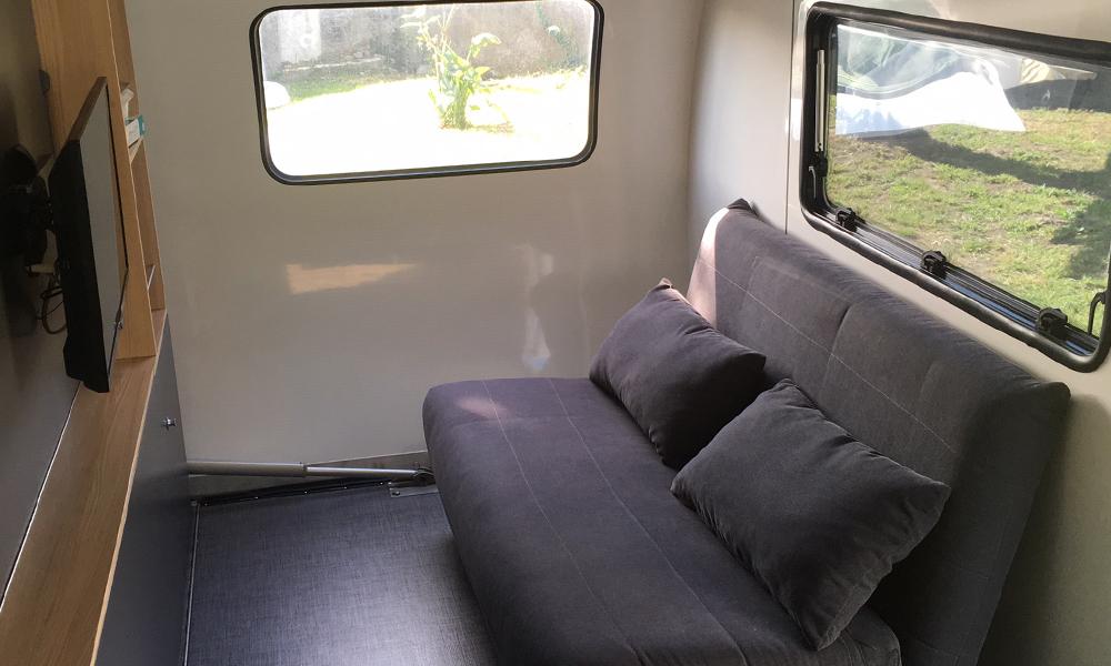 Beauer caravane 3XPlus - Salon